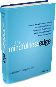 Mindful leadership book The Mindfulness Edge