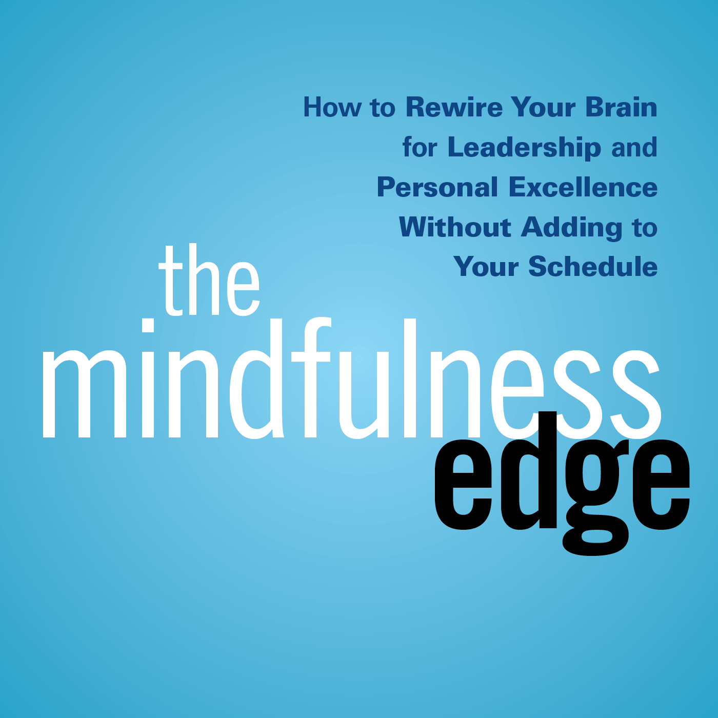 The Mindfulness Edge Podcast : Mindfulness – Leadership – Success – Happiness